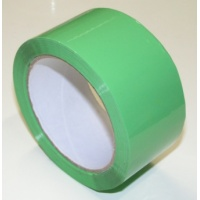 50 mm x 66 m - self adhesive tape, green
