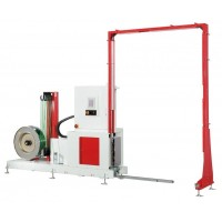 TP-703VLM POLLUX - vertical fully-automatic PP or PET strapping machine